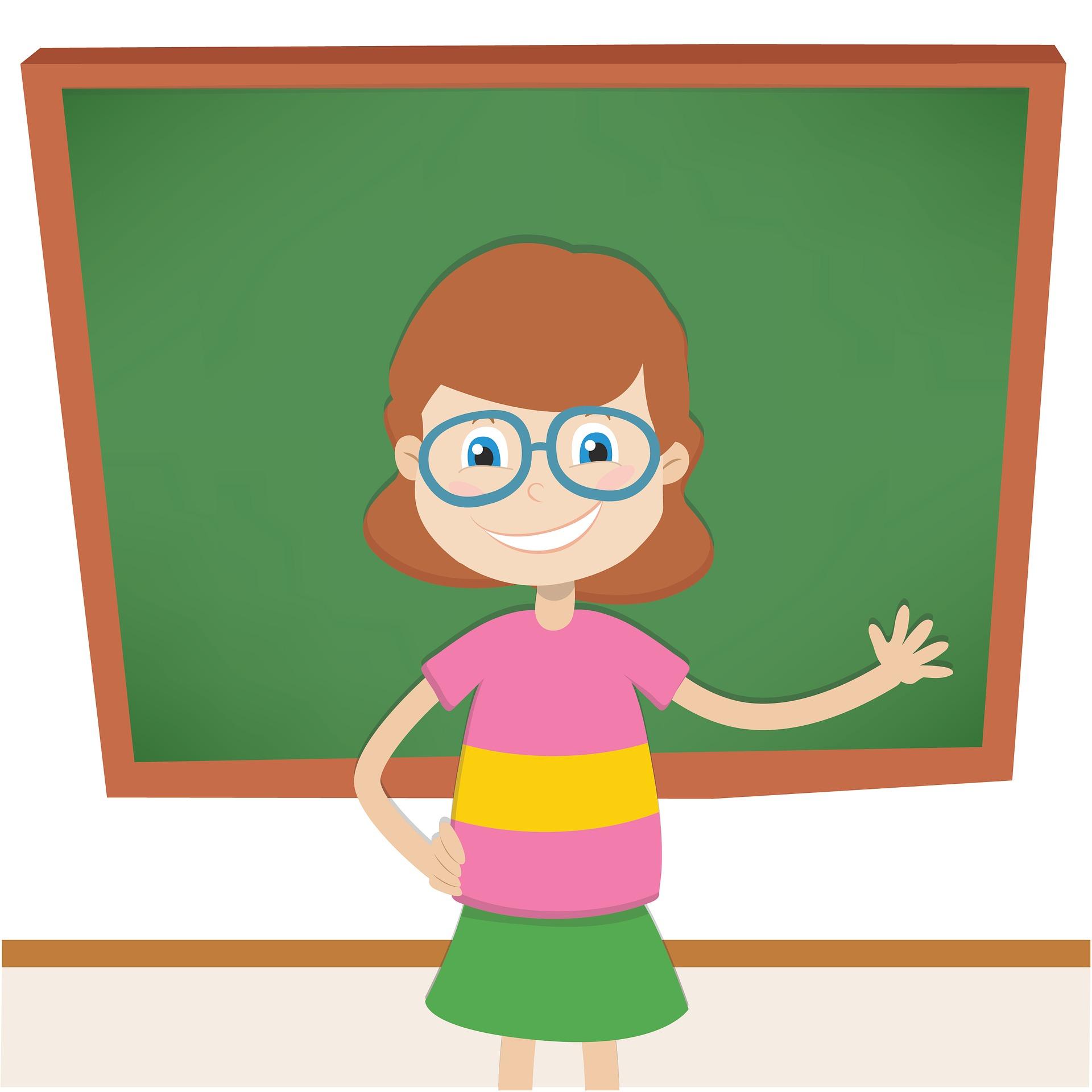 maestra a scuola