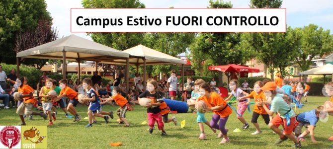 """Bilancio finale del Progetto """"Campus Estivo FUORI CONTROLLO"""""""