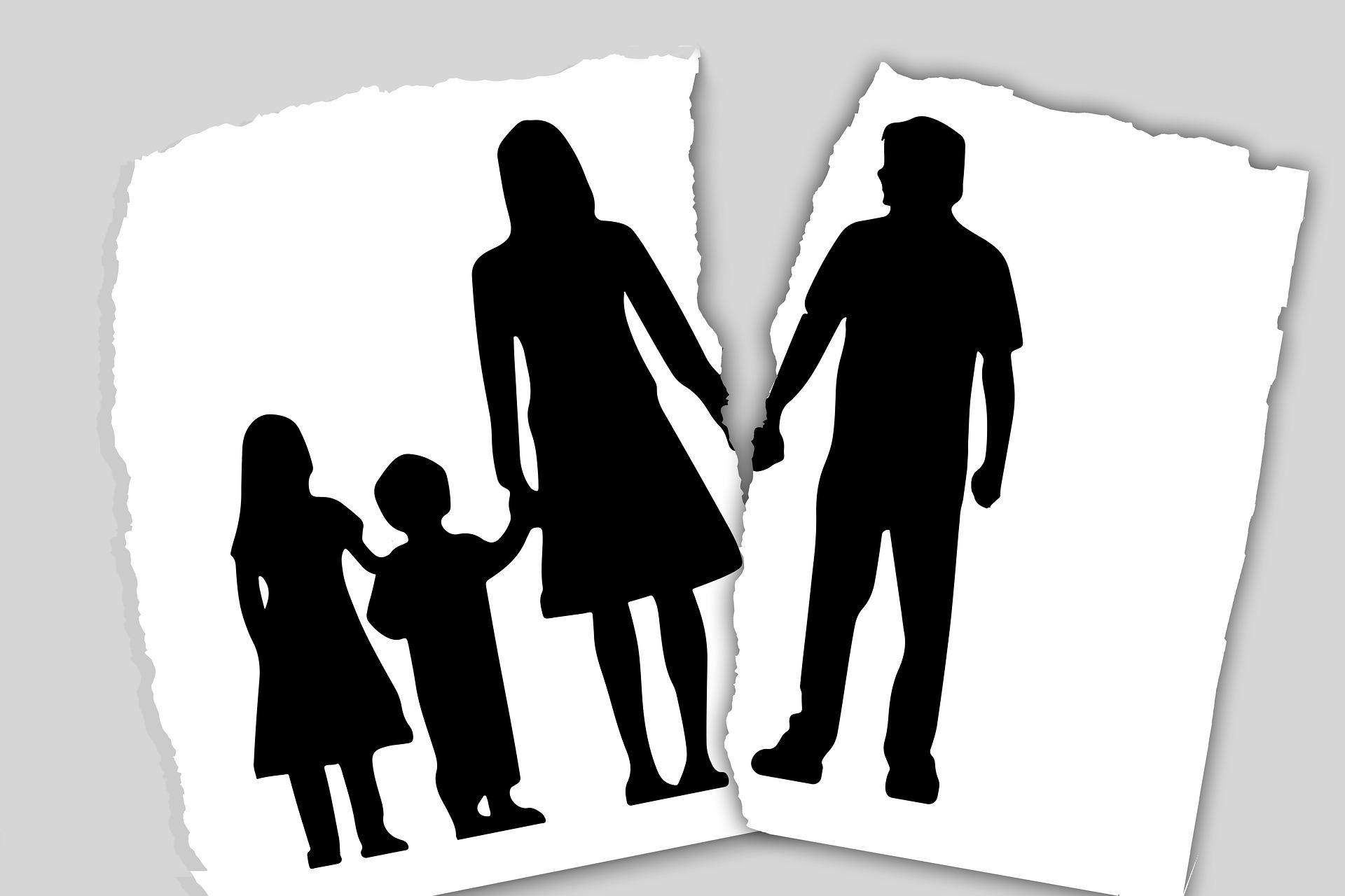 separazione genitori