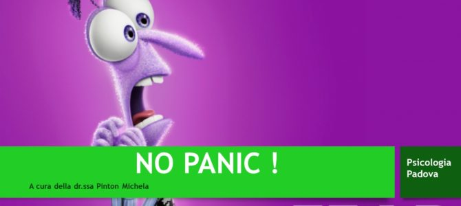 NO PANIC –  Incontro divulgativo sull'ansia in età evolutiva.