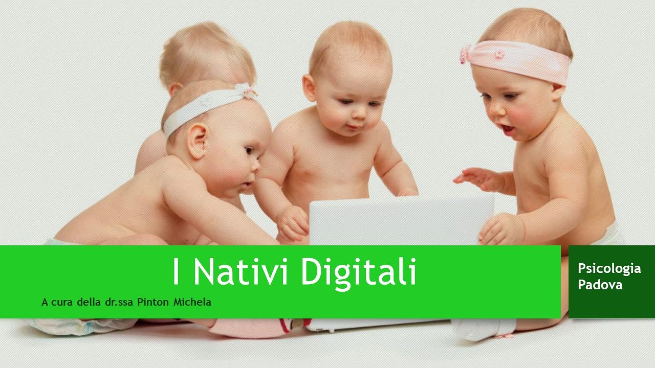 i nativi digitali